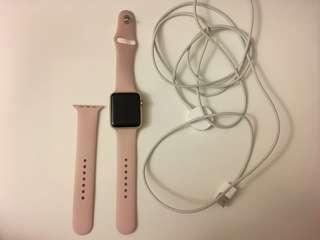 Pink Series 1 Apple Watch