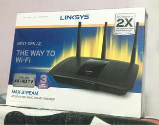 Linksys max stream router
