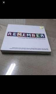 Cd Box 1 - Remember