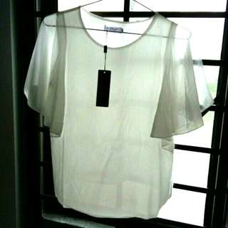 Clearance Sale: White Blouse Top