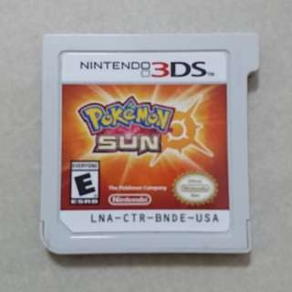 WTS : Nintendo 3DS / 2DS game : Pokémon Sun cheap
