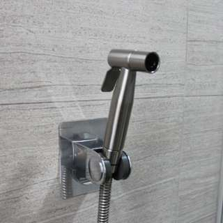Brand New Stainless Steel Bidet Spray With Silver 3M Holder (Free Delivery With Purchase Of 2 Set And Above)