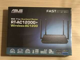 Brand New Asus AC1200G+ wireless dual band router