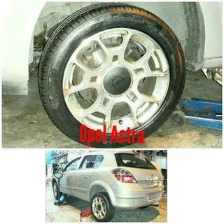Tyre 205/50 R16 Membat on Opel Astra 🐕 Super Offer 🙋♂️