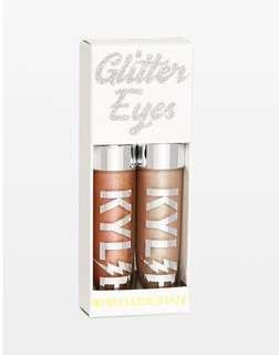 """Kylie Cosmetics Glitter Eyes Duo Set """"Twinkle twinkle + Superstar"""""""