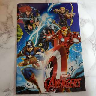 Marvel Exercise Book