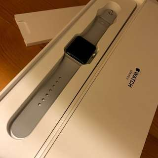 Apple Watch Series 3 38mm (GPS) 連Apple Care