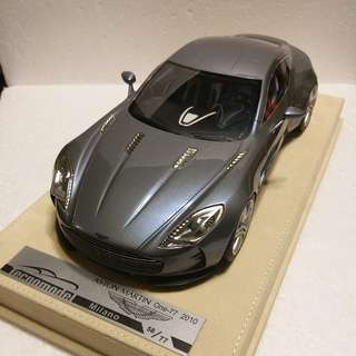 1:18 Aston Martin One-77 grey/blue limited 77 pcs