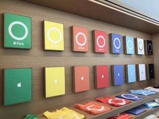 Apple (original) park t-shirts