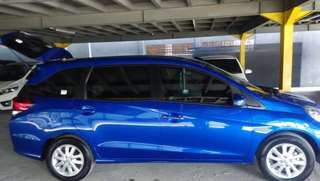 Over kredit mobil Honda mobilio type e manual biru 2017