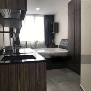Studio for rent. 1550 includes utilities