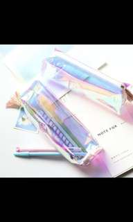 Iridescent pencil case