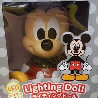 正版米奇led燈~!!