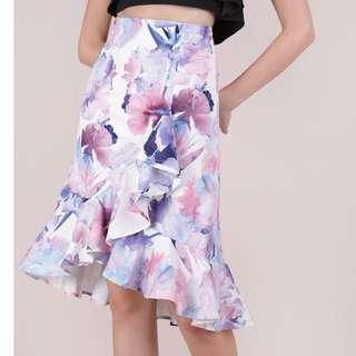 The tinsel rack clover ruffles skirt TTR