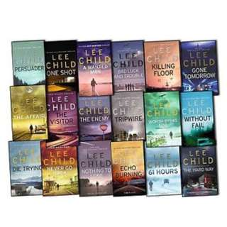 Lee child eBooks (complete set)