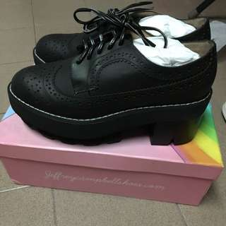 Jeffrey Campbell Hoppus Calf Black
