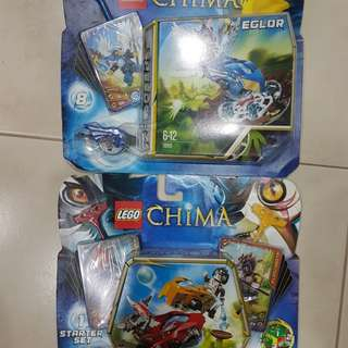 Lego Chima 2 Pack - 70113 Starter Set and 70105