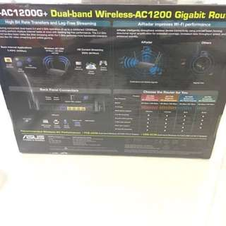 Asus dual band wireless Router RT-AC1200G+ 802.11ac