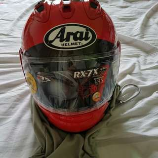 Brand new Arai RX-7 Suzuki full face