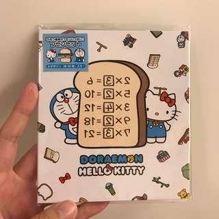 [現貨包郵] 多啦A夢 叮噹 x Hello Kitty Memo Pad 便利貼