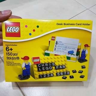 Lego BNIB Desk Business Card Holder 850425