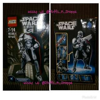 Space Wars Buildable Figures- Star WarsLIKE