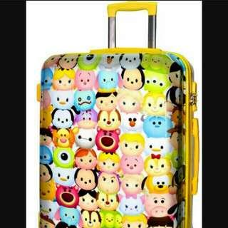 Tsum Tsum 28吋 彩黃旅行喼
