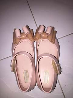 Preloved mini Melissa ultragirl sweet III light pink USA 8
