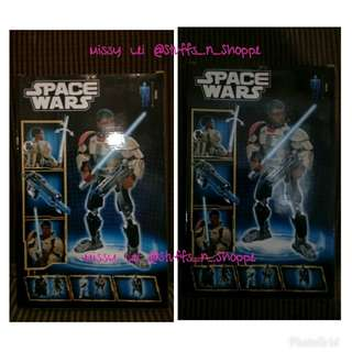 Space Wars Buildable Figures-Star WarsLIKE
