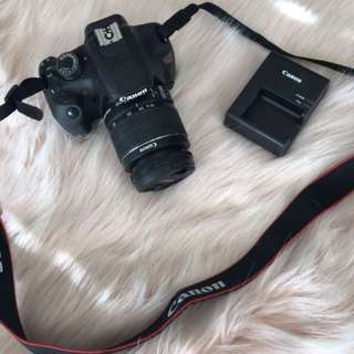 Canon EOS Rebel T5 With Lens