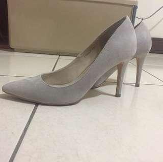 Randa灰色高跟鞋37號