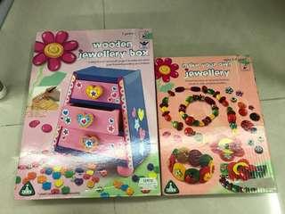 ELC girls jewelry making set