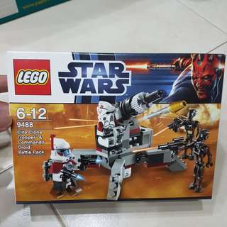 Lego Elite Clone Trooper & Commando Droid Battle Pack 9488