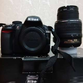 Nikon D3100 kit 18-55mm VR Like New!! Jarang pake no minus