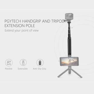 PGYTECH Hand Grip and Extension Pole Selfie Stick Monopod for GoPro HERO6 HERO5 HERO4 SJCAM Xiaomi YI Action Camera Accessories