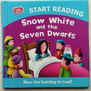 Preloved Story Book -  Snow White and the Seven Dwarfs