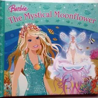 Preloved Story Book - Barbie The Mystical Moonflower