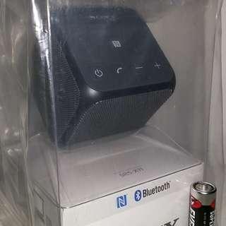 全新@\原裝正版 SONY SRS-X11 無線NFC藍牙喇叭 方塊型黑/*獨有電話鍵可直接通話*音質出眾*户外室內合用Bluetooth Speaker