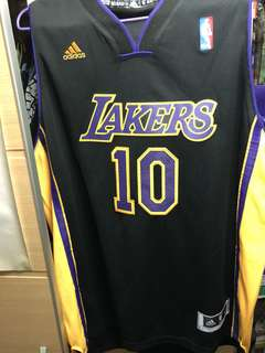 Adidas NBA Jersey Steve Nash Lakers