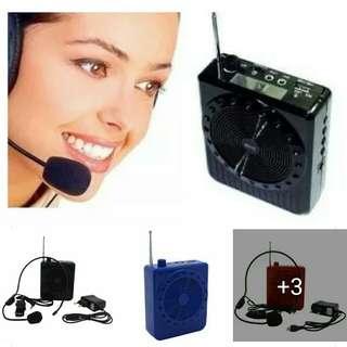 Multi-Function Megaphone, Speaker w/ Lapel Mic 480
