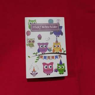 Cute Owl Sticky Notes