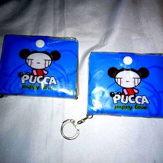 *Helping a friend Pucca Girl's Wallet