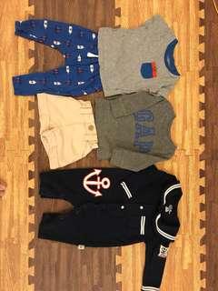 Bundle baby boy clothes BabyGap Carter's