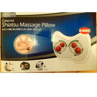 Shiatsu Massage Pillow 指壓按摩枕 Promote blood circulation, relieve pain and relax. 促進血液循環, 緩解疼痛及放鬆