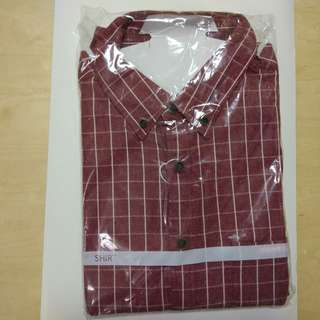 全新 男裝長袖恤衫 BRAND NEW LONG SHELVE MEN SHIRT