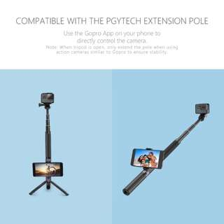 PGYTECH 2 in 1 Hand Grip and Tripod Extension Pole Selfie Stick Monopod for GoPro HERO6 HERO5 HERO4 SJCAM Xiaomi YI Action Camera Accessories