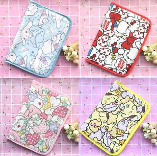 Sanrio Characters Passport and Documents Holder