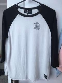 west48 3/4 sleeve shirt