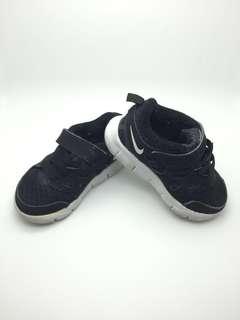 NIKE Kids Shoes Size 6C -Black color