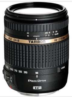 Tamron 18-270mm F3.5-6.3